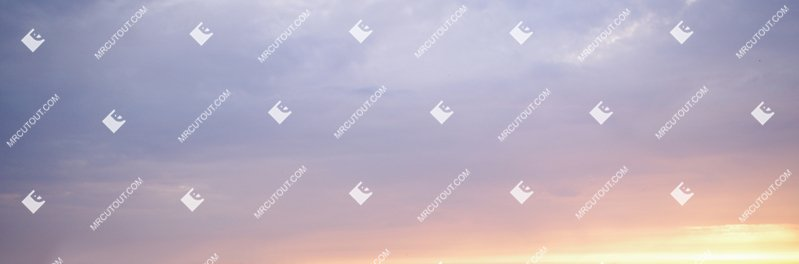 Sky for photoshop - Sunset 0002 preview