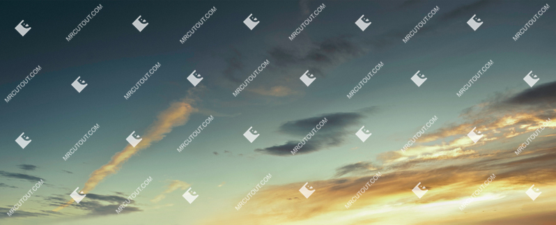 Sky for photoshop - Sunset 0022 preview