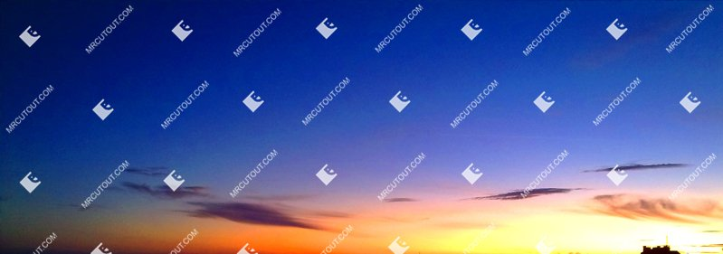 Sky for photoshop - Sunset 0031 preview