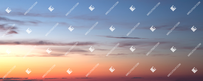 Sky for photoshop - Sunset 0032