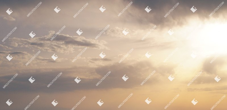 Sky for photoshop - Sunset 0033 preview