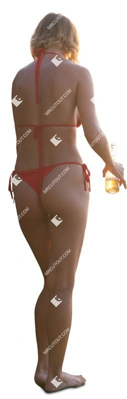 Cut out people - Woman Drinking Wine 0014 preview
