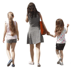 Cutout people PNG